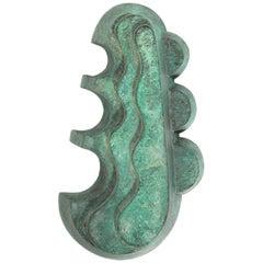 Art Deco Style Verdigris Bronze Sculpture