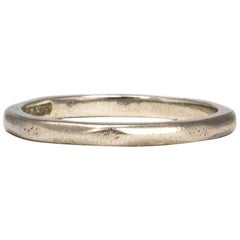 Art Deco Stylish Platinum Band