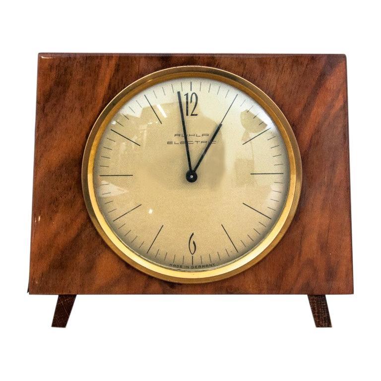 Art Deco Table Clock, Germany, 1970s