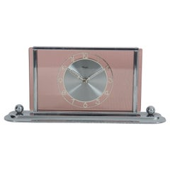 Art Deco Table Desk Clock Kienzle