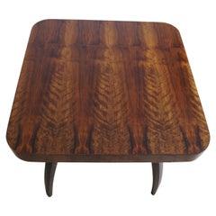 Art Deco Table H-259 J.Halabala Nut from, 1950