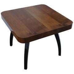 Art Deco Table H-259 J.Halabala Nut from 1950