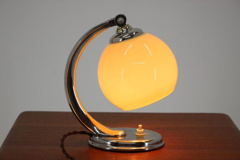 Mid-20th Century Art Deco Table Lamp, 1930s For Sale