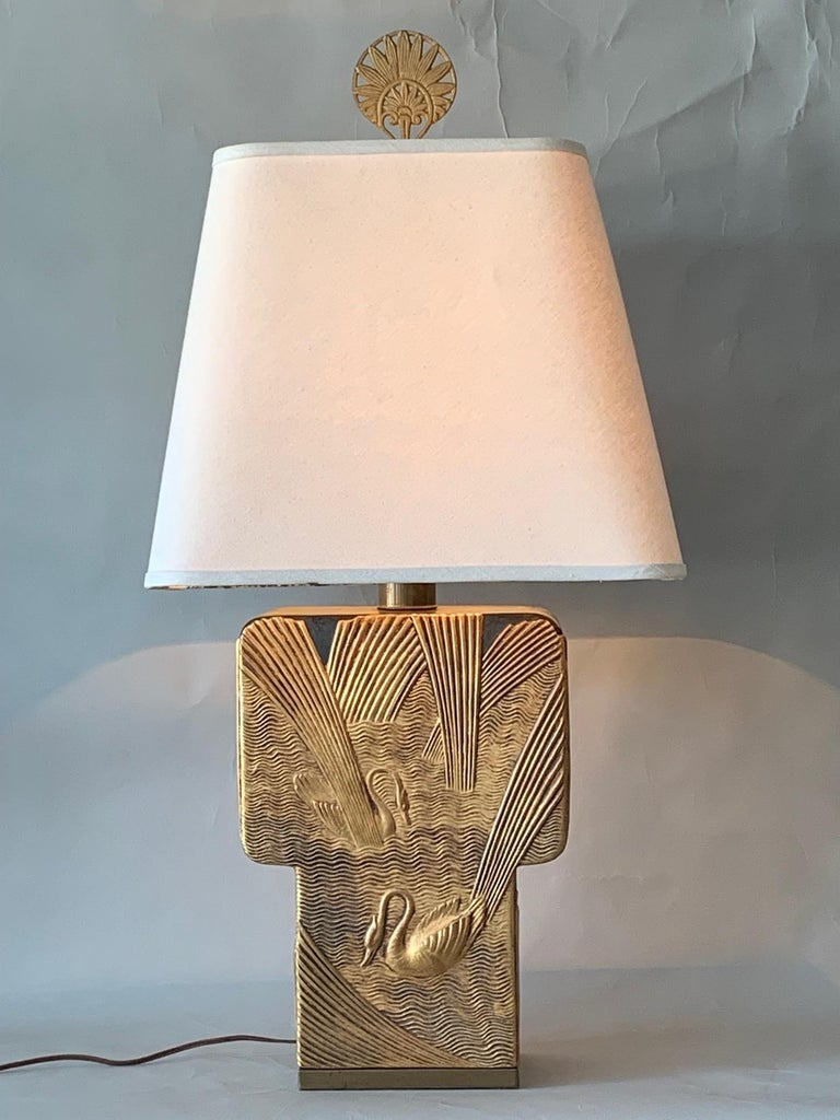 Art Deco Table Lamp by Chapman, 1982 For Sale 2
