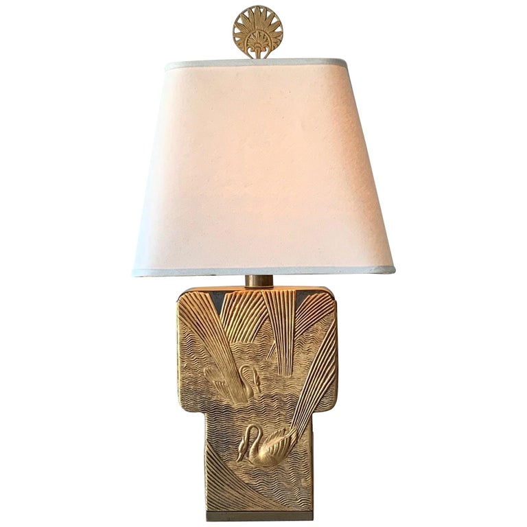 Art Deco Table Lamp by Chapman, 1982 For Sale