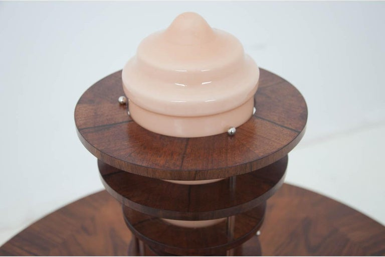 Spanish Art Deco Table Lamp For Sale