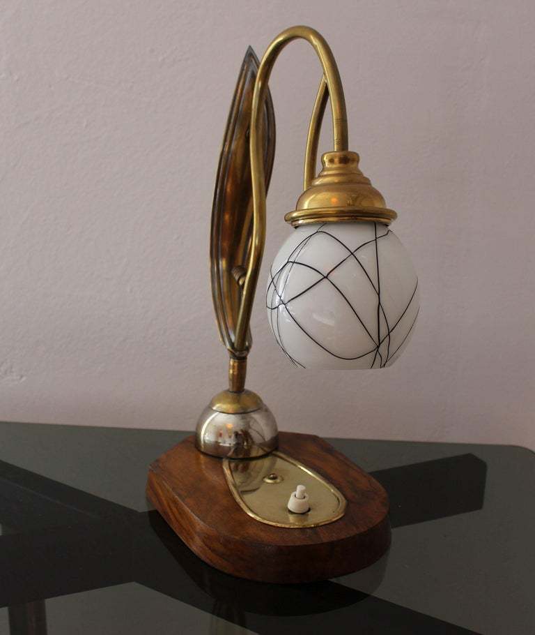 French Art Deco Table Lamp For Sale