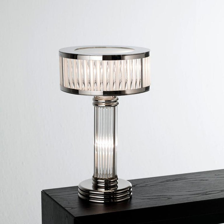 Contemporary Art Deco Table Lamp For Sale