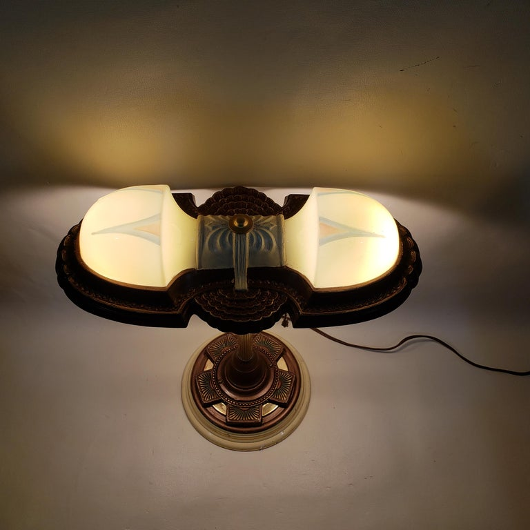 Art Deco Table Lamp For Sale 2