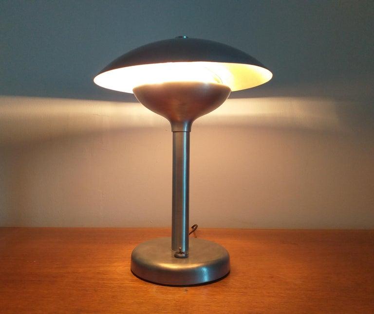 Art Deco Table Lamp, Franta Anyz, Functionalism, Bauhaus, 1930s For Sale 6