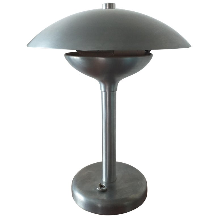 Art Deco Table Lamp, Franta Anyz, Functionalism, Bauhaus, 1930s For Sale