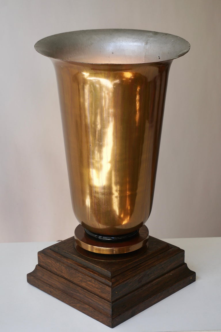 Early 20th Century Art Deco Table Lamp, 1940s For Sale