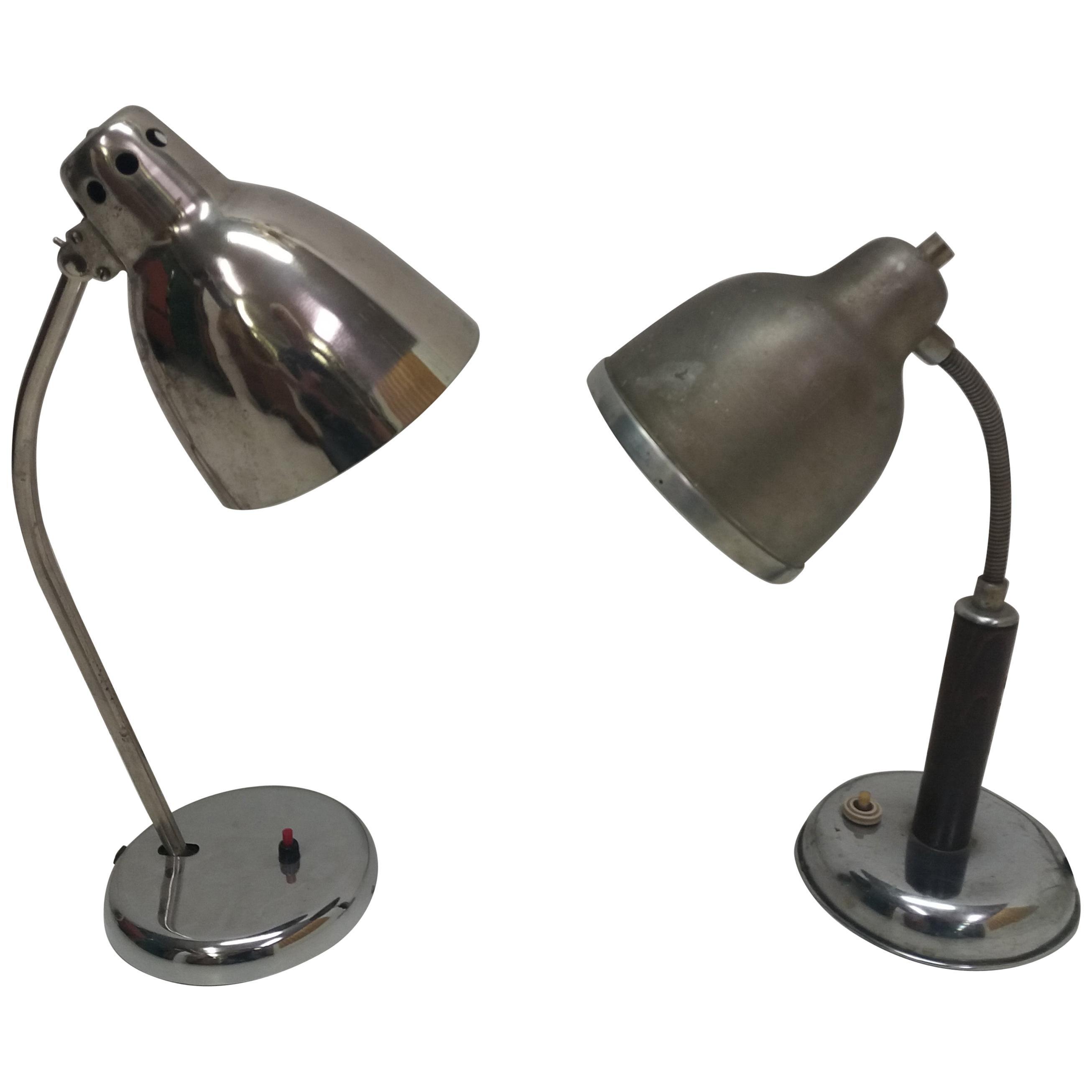 Art Deco Table Lamps, 1930s