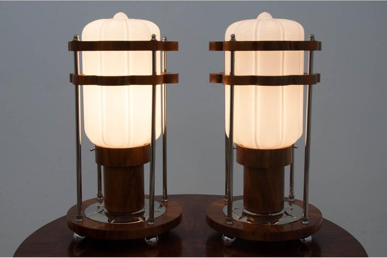 Late 20th Century Art Deco Table Lamps For Sale
