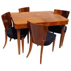 Art Deco Table Nut J.Halabala from 1940.