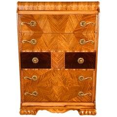 Art Deco Tall Dresser