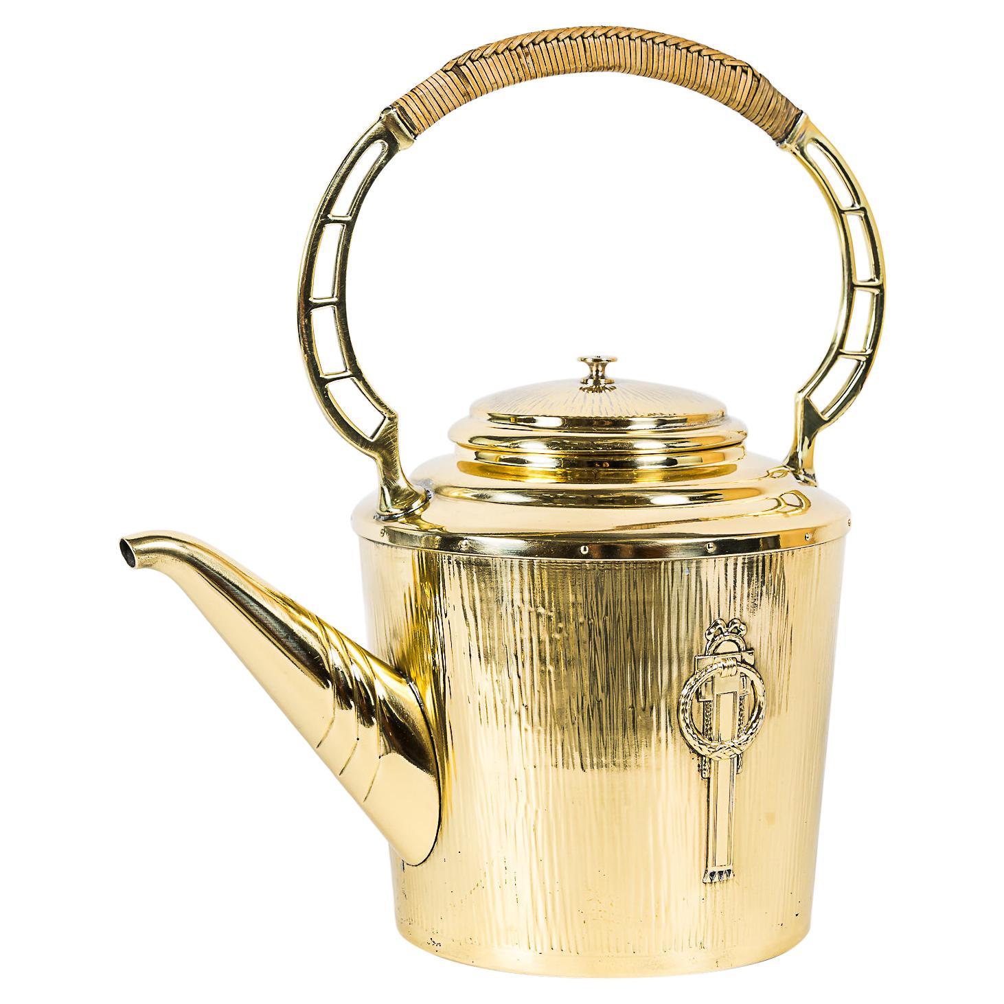 Art Deco Tee Can by Argentor, Vienna, Around 1920s