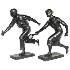 Art Deco Tennis Players