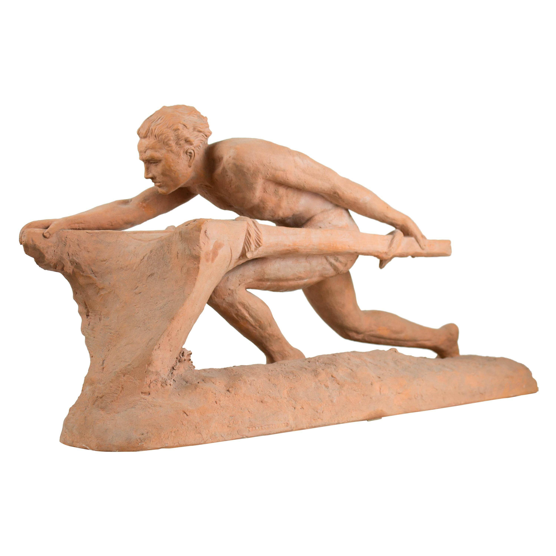 Art Decò Terracotta Sculpture
