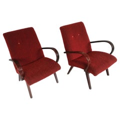 Art Deco Thonet 2 Chairs from 1960