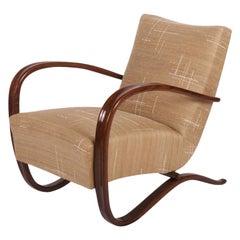 Art Deco Thonet H269 Armchairs by Jindrich Halabala
