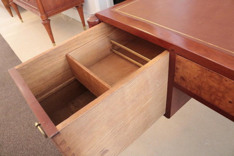 Art Deco Three-Drawer Desk In Good Condition For Sale In New York, NY