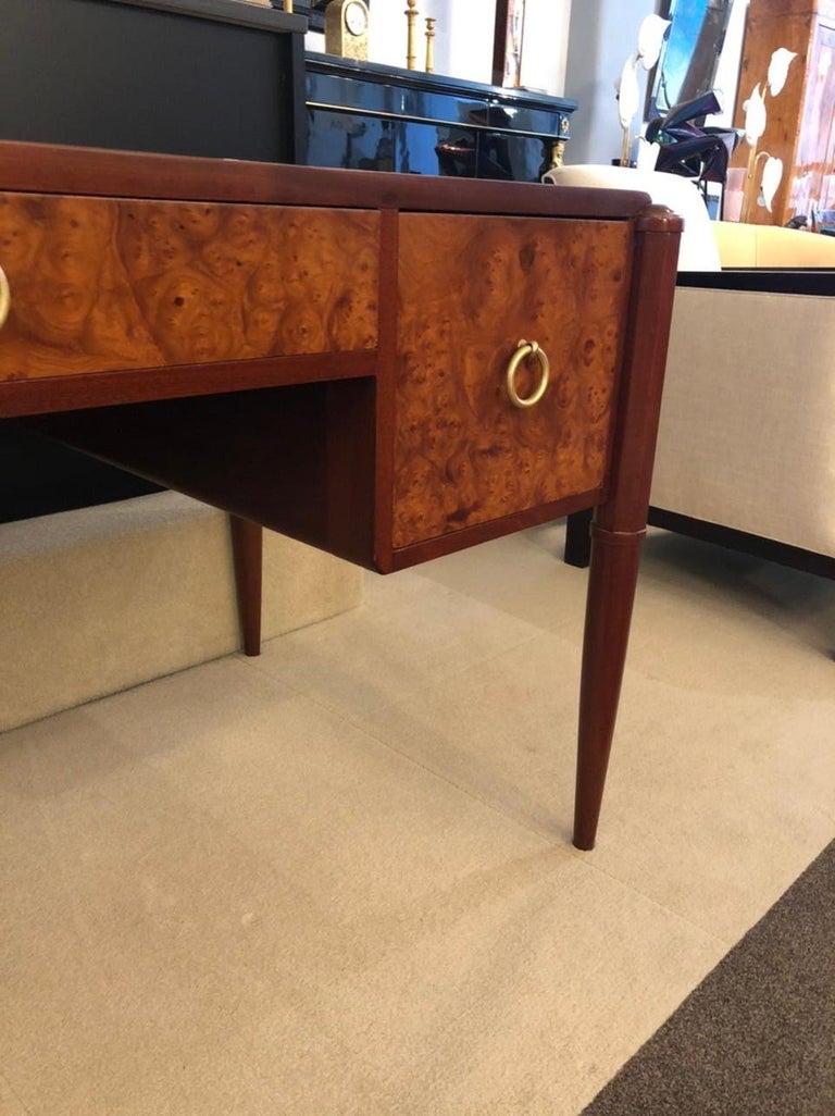 Art Deco Three-Drawer Desk For Sale 1
