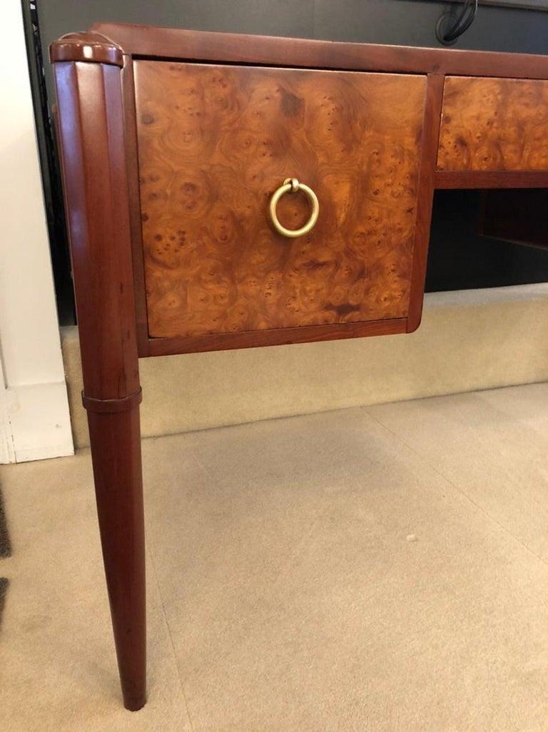 Art Deco Three-Drawer Desk For Sale 2