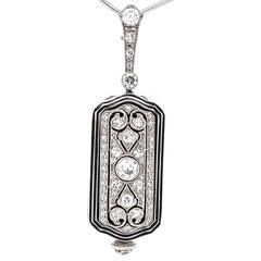 Art Deco Tiffany & Co. Diamond Platinum Watch
