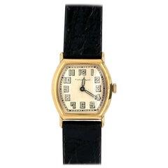 Art Deco Tiffany & Co. Ladies Gold Watch