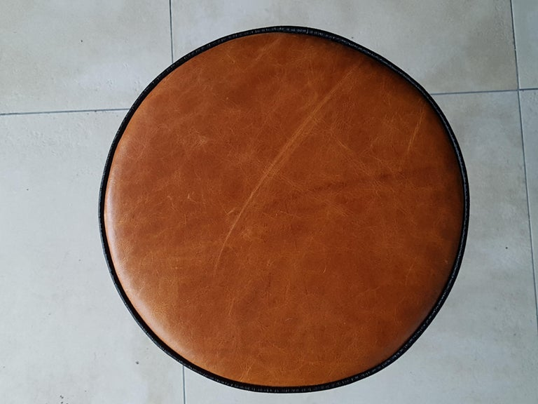 Art Deco Tubular Marcel Breuer for Thonet Stool B77 Bauhaus, 1930 For Sale 6