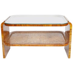 Art Deco Two-Tiered Coffee Table English, 1930s