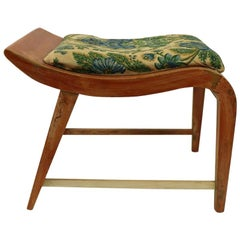 Art Deco Vanity Stool Designed by Rohde for Herman Miller