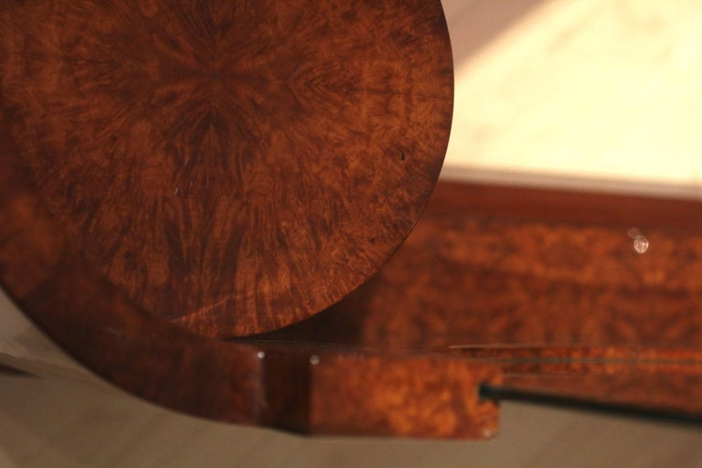 Art Deco Vanity Table, Amboyna Roots, France, circa 1925 For Sale 5