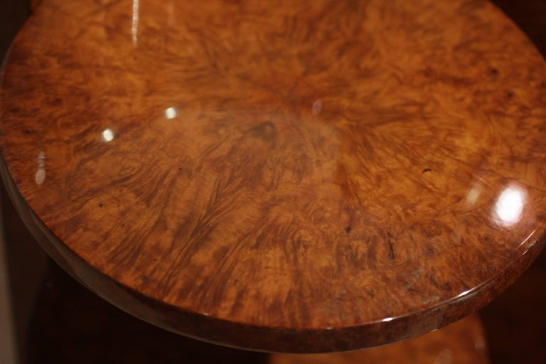 Art Deco Vanity Table, Amboyna Roots, France, circa 1925 For Sale 1