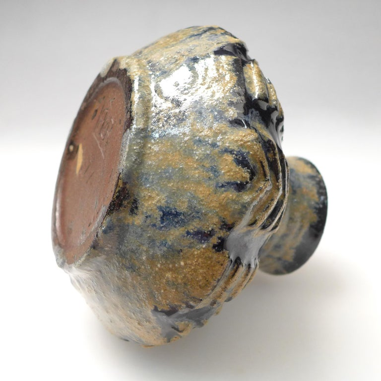 20th Century Art Deco Vase by W.C. Brouwer For Sale