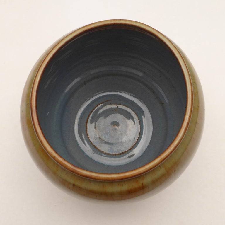 Ceramic Art Deco Vase by W.C. Brouwer For Sale