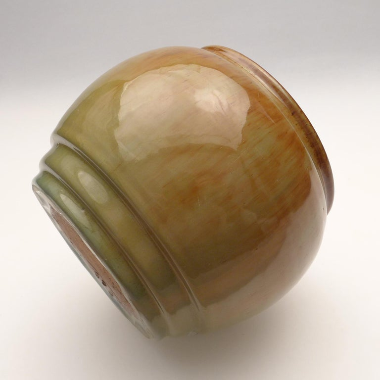 Art Deco Vase by W.C. Brouwer For Sale 1