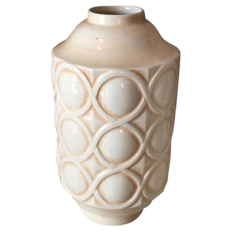 Art Deco Vase in Ceramic, France, 1930
