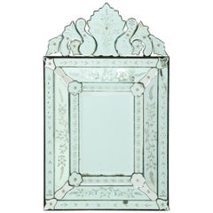 Art Deco Venetian Mirror