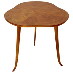 Art Deco Vintage Cherry Side Table by Josef Frank for Haus and Garten Austria