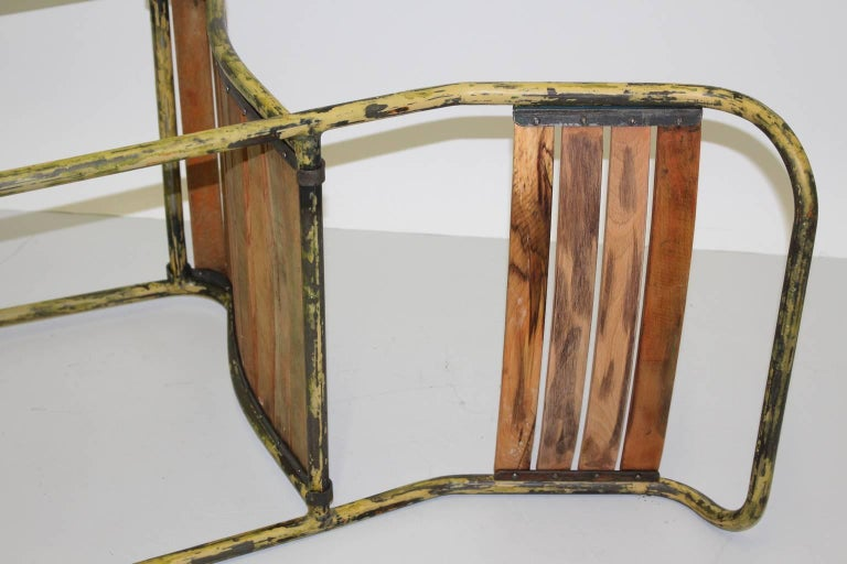 Art Deco Vintage Steel Chairs RP6 by Bruno Pollak 1931-1932 PEL Ltd, England For Sale 1