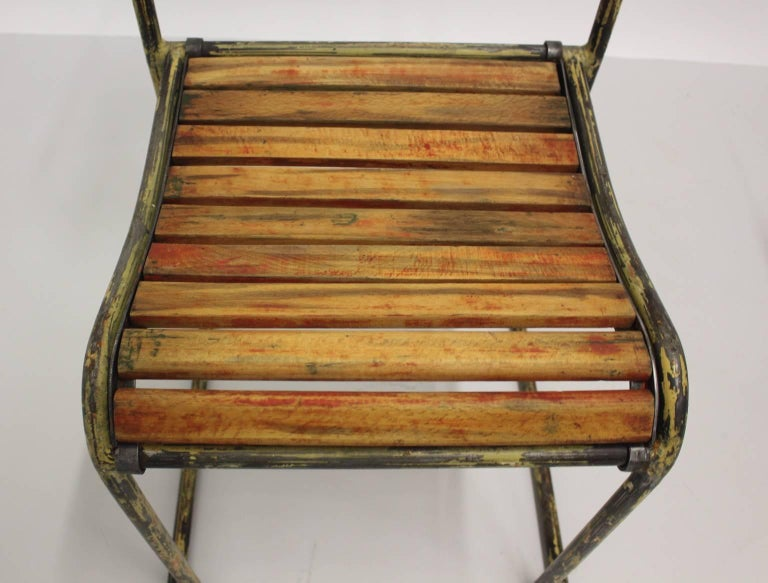 Art Deco Vintage Steel Chairs RP6 by Bruno Pollak 1931-1932 PEL Ltd, England For Sale 3