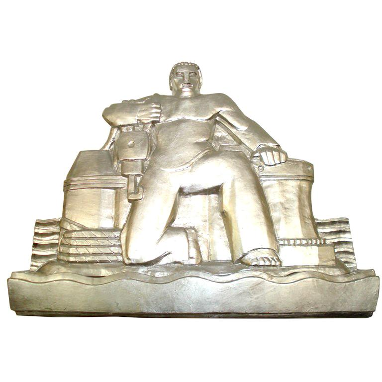 Art Deco Wall Sculpture