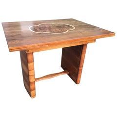 Art Deco Walnut Dining Table