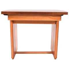 Art Deco Walnut Extending Dining Table