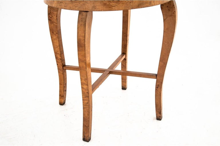 Art Deco bright side table. 