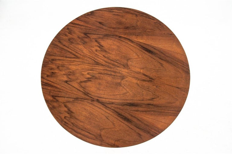 Art Deco side table.  Beautiful walnut veneer.  Good condition.