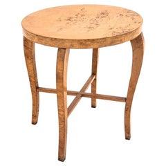 Art Deco Walnut Side Coffee Table