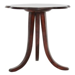 Art Deco Walnut Side Table or Coffee Table by Josef Frank for Thonet, circa 1925